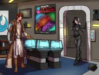 Swtor Commission by lonelion4ever