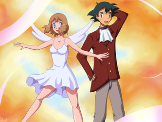 Amourshipping - Heavenly by ZelgadisGW