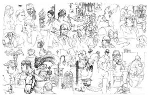 Todays sketches by bolognafingers