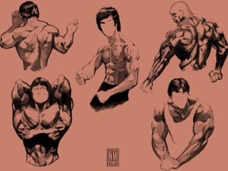 Muscle bound 4 by NeerajMenon
