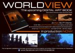 'Worldview' Digital Art Book by JamesLedgerConcepts