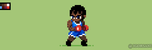 313/365 pixel art : Balrog - Street Fighter by igorsandman