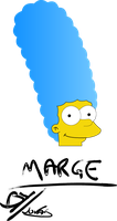 Marge Simpsons by CantoX5