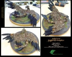 Dragon Bird Sculpture by Mytherea