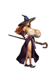 Dragons Crown Sorceress Breast Expansion by Zealot42
