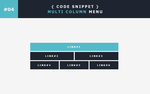 [04] Code Snippet - Multi Column Menu by Gasara
