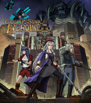 Cosmic Star Heroine - PHII Homage by slash000