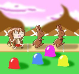 Hannah in the Land of Chocolate by HannahDoma