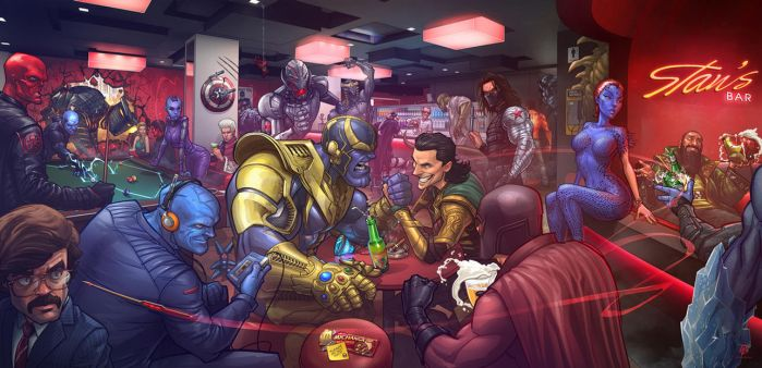 Marvel Villains by PatrickBrown