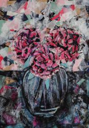 Carnations Collage by Bmouat