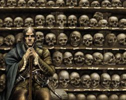 Sixty Two Skulls by draldede