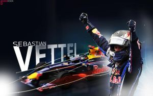 SebastianVettel Wallpaper by brandonseaber