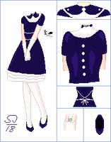 Dolly outfit 01 [OPEN ! Set price ] by PinkFlares