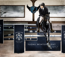Suomi Winter Event 2013 - Show Jumping by PartilleHSC