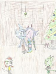 Gift: Jacob x Lilac Christmas by mastergamer20