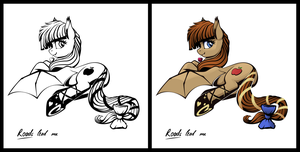 Pony sticker - Lunette Starlenses by iOVERD