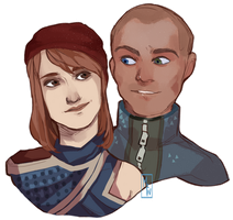 [Detroit: Become Human] Revolutionists by M-F-W