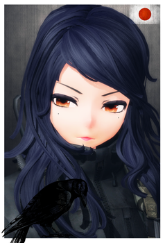 [MMD]''Black Raven'': H.W (WIP) by AbyssLeo