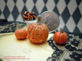 Pumpkins! by SmallCreationsByMel