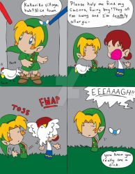 Zelda OoT Comic 43 by Dilly-Oh