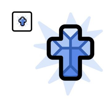Vectorized Isaac #28: Holy Mantle by giftedscholar