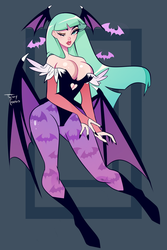 Morrigan by twitchycreedles