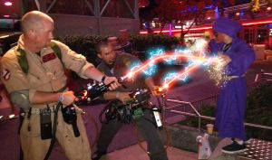 Suncoast Ghostbusters Cosplay FX Shot by firebladecomics