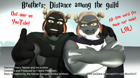 The Brothers guild film poster by MasterMeiniek