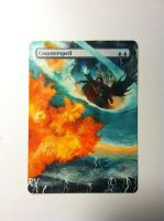 Counterspell Painted Alter by ReneeYV