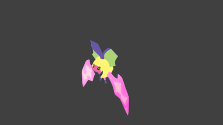 Wip Low Poly Komory Bat Render by unofficial-he