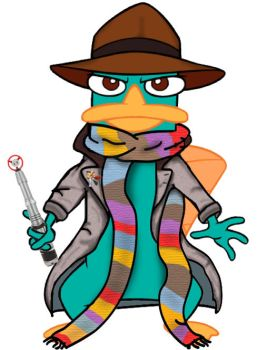 Doctor Who platypus - 4th version 2.0 by killddianette