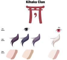 Kihaku Clan Color Sheet by anniberri