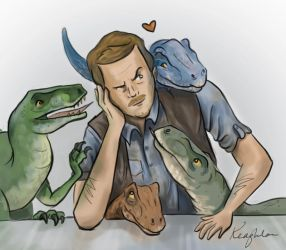 Raptordad by KStarrLynn