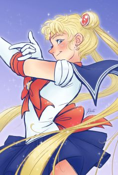 Sailor Moon by AmberDust