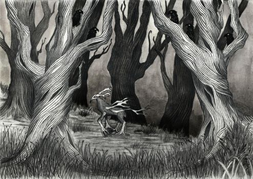 Forest Nevermore by 222maya