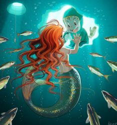 Mermaid and me by LZ79