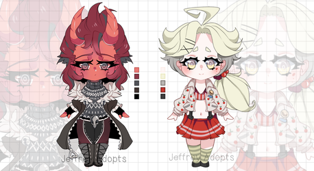 Adopt auction 72 [closed] Collab with Kat by JeffreyAdopts
