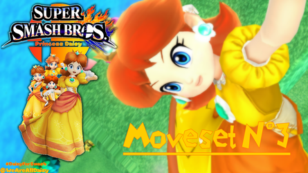 Support Daisy for Smash 2018 : Moveset #3 by DaisyPotential