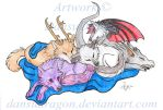 Nap Time Commission by DansuDragon