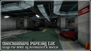 [MMD] Onechanbara Parking Lot STAGE - Download by Riveda1972