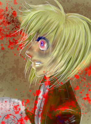 The Likes of You (ASOT!Armin x Yandere!Reader by whitesoulninja69 on