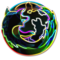 NeonFox Firefox Icon by crypticPWN