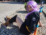Future Trunks Girl by Caydance