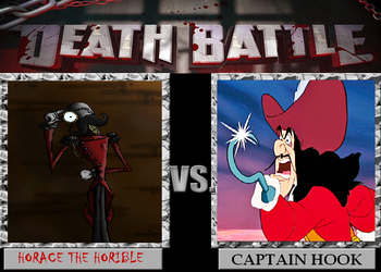 DEATH BATTLE #3 Captain Hook VS Horace The Horible by adrian98-12