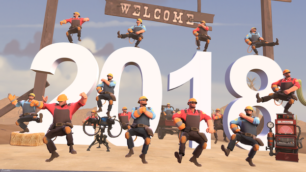 [SFM] Celebrating new year with TDEs by Zeiburg-spaps