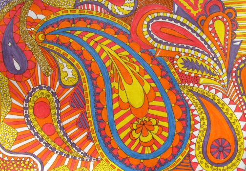 Delicious Paisley by cheep
