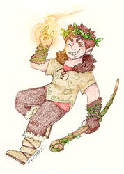 Druid Clyde by Tarulimint