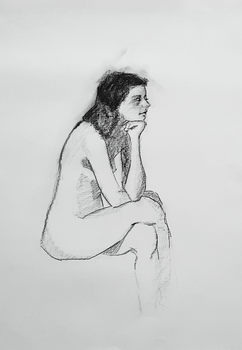 lifedrawing nude by Neivan-IV