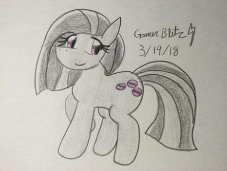 Marble Pie (Redesign)  by GManGamer25
