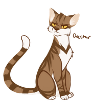 [100 WARRIOR CATS CHALLENGE] #8 - Onestar by toboe5tails